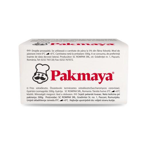 Pakmaya, produs profesional, pachet 500g, cutie 10kg