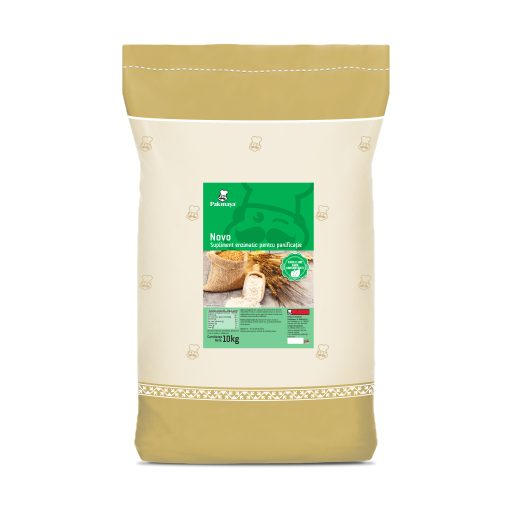 Novo enzyme supplement - Pakmaya, flour improver used in bakery, 10kg sack